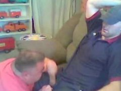 Hot guy vidz gets blown  super on a sofa