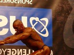 MUSCLEDAD Maurice vidz Felstead -  super Masters Over 40 - NABBA Universe 2014