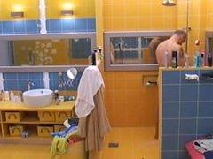 Sebastijan shower vidz from Big  super Brother Slovenia 2008