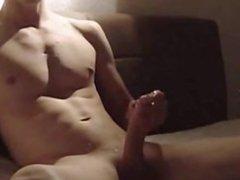 a hot vidz stud cums  super a huge sticky load