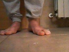 my male vidz feet &  super toerings