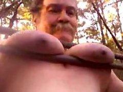 Having fun vidz swinging from  super my tits