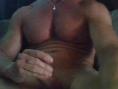 Cumming on vidz the Big  super Chest