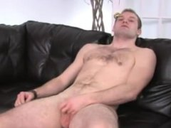 jerking a vidz small pecker  super on the couch