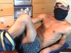 Real straight vidz french arab  super guy get wanked his cock in spite of him !