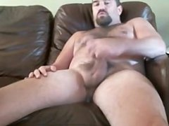 Daddy with vidz a big  super dick on webcam
