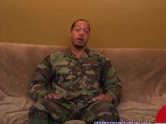 Muscular Sergeant vidz Jordan has  super a huge cock