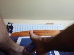 Feet job vidz with dildo