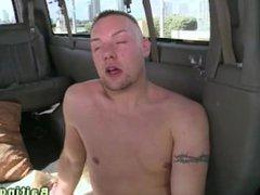 Real straight vidz hunk baited  super into gay bj