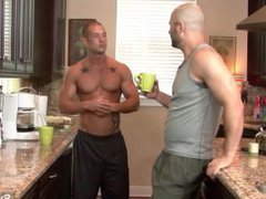 Horny bald vidz gays David  super Chase and Rod Daily sucking dicks and fucking