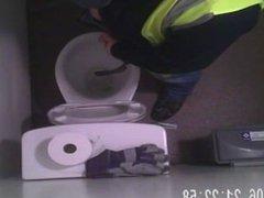 delivery driver vidz taking a  super piss hidden camera