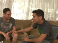 Awesome gays vidz Lex Sabre  super and Ryan Thompson sucking their large dicks