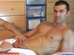 Real hetero vidz guy serviced  super by us: Nicolas , a real athletic guy get wanked.