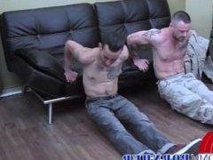 2 of vidz the hottest  super Military men fuck hard