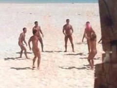 VINTAGE STRAIGHT vidz GUYS VACATION  super NAKED IN PARADISE -(©¿©)-
