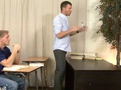 Sexy gays vidz fuck in  super a meeting at the work