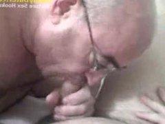 Hung Silverdaddy vidz Grandpa sucking  super my uncut cock