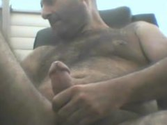 Hairy turkish vidz man solo