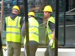 Fun Construction vidz guy getting  super gay