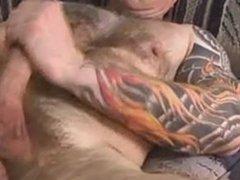 Muscle Bull vidz Jerks Off  super & Cums