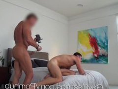 HD GayCastings vidz - Hot  super straight guy with huge dick auditions for gay porn