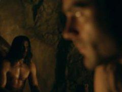 Manu Bennett vidz & Antonio  super Te Maioha Frontal Nude in Spartacus Gods of the Aren