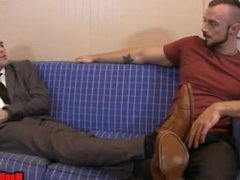 Tickling the vidz Debt Collector  super JESSIE COLTER LANCE HART bondage footjob