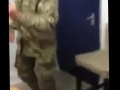British Soldiers vidz Spanking Cock.