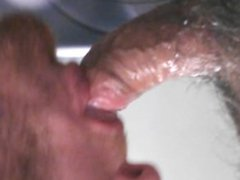 Sucking Cock vidz and Swallowing  super Cum in a Bathroom Stall