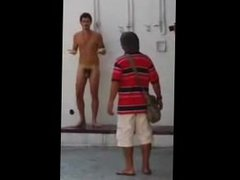 Caught Nude vidz Shower on  super The Streets.