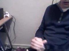 Danish Boy vidz Playing Cock  super In Computer Room