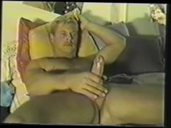Str8 Blonde vidz Hung Marine  super JO & Cums