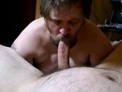 Big Cock vidz Daddybear Blowjob