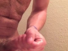 Jerking Off vidz Before Shower  super End Cum