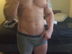 Muscle Stud vidz Showing It  super off