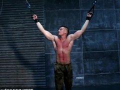 Muscle boy vidz hard flogging