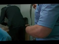 SPYCAM -(©¿©)- vidz PRISON INTAKE  super STRIP GERMANY