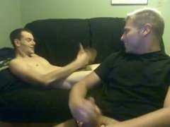 buddies do vidz a quick  super shooting contest impressive jizz streams