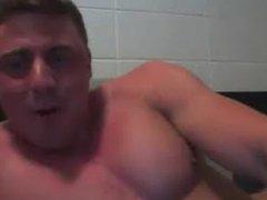 Canadian Military vidz BodyBuilder Jerks  super Off & shows Off