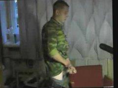 RUSSIAN SOLDIER vidz -(©¿©)- JO  super 4 $$$ BUT STILL SHY