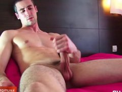 Str8 room vidz service guy  super gets wanked-gfilmed by a client for money !
