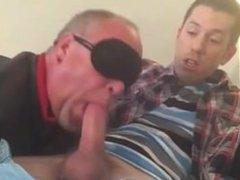 Look at vidz his face  super as he gets a blowjob!