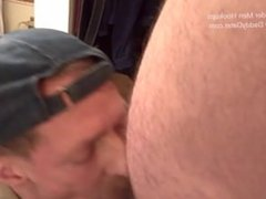 Uncut Cameraman vidz Bear Gets  super Blown by 2 Horny Daddies