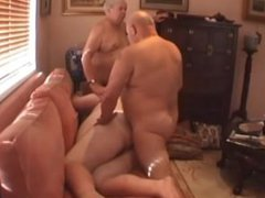 Superchub Threesome vidz - Young  super Chubby Boy and His Two Older Daddy Bears
