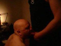 Slave Pig-Jussi vidz sucking his  super Master's cock.