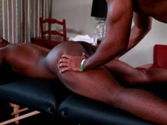 Next Door vidz Ebony XL  super Gives Great Dicking On Massage Table