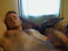 Hairy College vidz Guy Jerking  super Off On Webcam