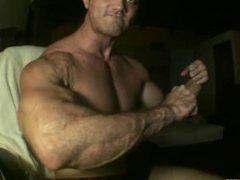 Hard Muscled vidz Jock Cums