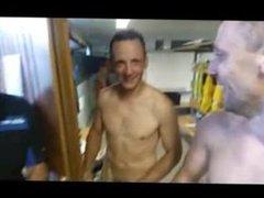 Naked Soccer vidz Team in  super Showers