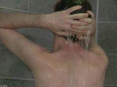 Cock Virgins vidz Locker Room  super Shower Sex